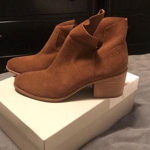 BP Suede Bootie( BRAND NEW) never been worn!